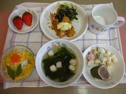 29.3.1ひなまつり行事食